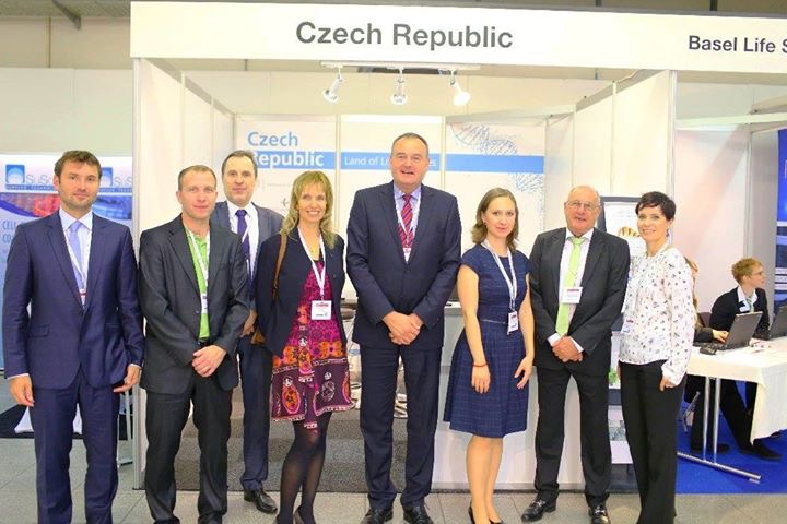 the Czech Invest Booth at BSLW2016